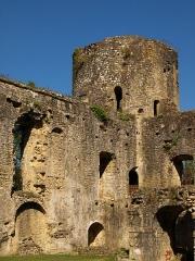 Ruines du château - Les vestiges du château de Villandraut en Gironde