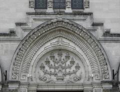 Synagogue - Français:   Grande Synagogue de Bordeaux (33).