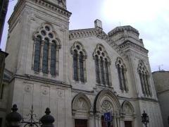 Synagogue - Français:   Grande synagogue de Bordeaux.