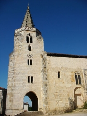 Eglise Saint-Saturnin - This building is indexed in the Base Mérimée, a database of architectural heritage maintained by the French Ministry of Culture,under the reference PA00083929 .