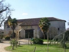 Château et sa chapelle - Français:   Ancienne église Saint-Blaise à Hontanx, dans le département français des Landes