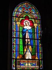 Eglise Saint-Hilaire - English: Lesperon (Landes) église, vitrail 08