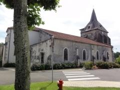 Eglise Saint-Hilaire - English: Église Saint-Hilaire de Lesperon, extérieur