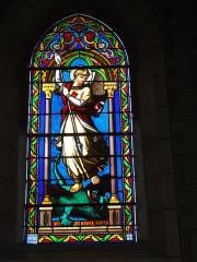 Eglise Saint-Hilaire - English: Lesperon (Landes) église, vitrail 03