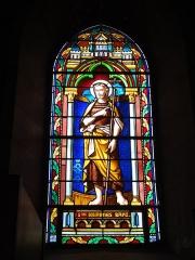 Eglise Saint-Hilaire - English: Lesperon (Landes) église, vitrail 11