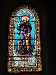 Eglise Saint-Hilaire - English: Lesperon (Landes) église, vitrail 0