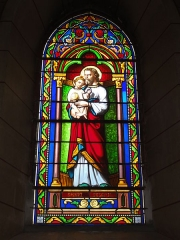 Eglise Saint-Hilaire - English: Lesperon (Landes) église, vitrail 10