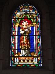 Eglise Saint-Hilaire - English: Lesperon (Landes) église, vitrail 02