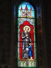 Eglise Saint-Hilaire - English: Lesperon (Landes) église, vitrail 05