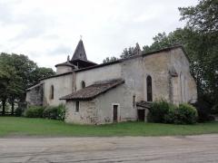 Eglise Saint-Martin - English: Moustey (Landes) église Saint-Martin PA00083988