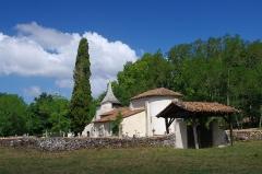 Eglise Saint-Jean-Baptiste -  Église Saint-Jean-Baptiste de Richet, commune de Pissos, Landes.