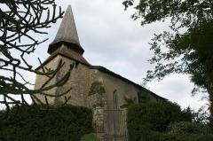 Eglise d'Argelouse - Français:   L\'église d\'Argelouse est  situé sur la commue de Saint-Justin, dans le département français des Landes.