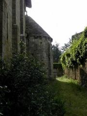 Eglise Sainte-Marie - Église Sainte-Marie d'Aubiac (47). Flanc sud.