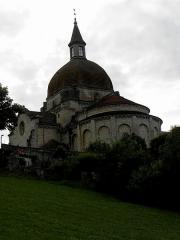 Eglise Saint-Martin - Chevet de l'église Saint-Martin de Layrac (47).