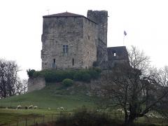 Ruines du château féodal - English:   Lot-et-Garonne - Castle of Madaillan
