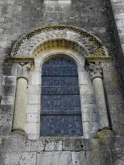 Eglise Notre-Dame - Façade occidentale de l'église Notre-Dame de Moirax (47).