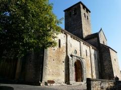 Eglise Saint-Géraud - Français:   Château prieural de Monsempron