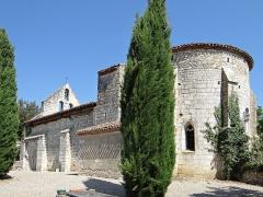 Eglise Saint-Martin de Mourrens - Français:   Sainte-Colombe-en-Bruilhois - Église Saint-Martin de Mourrens - Ensemble
