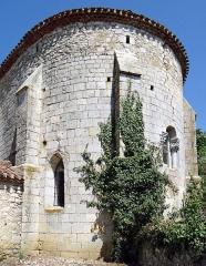 Eglise Saint-Martin de Mourrens - Français:   Sainte-Colombe-en-Bruilhois - Église Saint-Martin de Mourrens - Chevet