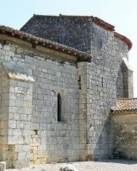 Eglise Saint-Martin de Mourrens - Français:   Sainte-Colombe-en-Bruilhois - Église Saint-Martin de Mourrens - Liaison entre le choeur et la nef