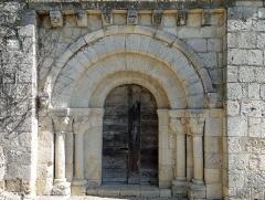 Eglise Saint-Martin de Mourrens - Français:   Sainte-Colombe-en-Bruilhois - Église Saint-Martin de Mourrens - Portail sud