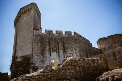 Château de Bonaguil - This building is classé au titre des monuments historiques de la France. It is indexed in the base Mérimée, a database of architectural heritage maintained by the French Ministry of Culture,under the reference PA00084226 .