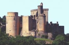 Château de Bonaguil - English: Chateau de Bonaguil (built by: de Roquefeuil-Blanquefort family)
