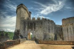 Château de Bonaguil - Français:   Château de Bonaguil, Saint Front sur Lémance, Lot-et-Garonne