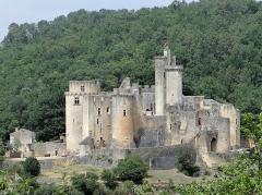 Château de Bonaguil - Français:   Saint-Front-sur-Lémance - Château de Bonaguil - Vue d\'ensemble