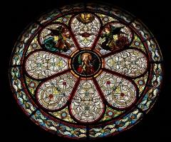 Eglise Sainte-Livrade - Français:   rosace église de Sainte Livrade