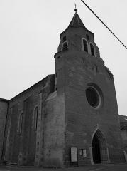 Eglise Sainte-Livrade - Français:   l\'église de Sainte Livrade