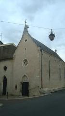 Chapelle de Notre-Dame de Grâce et de Toute-Joie - Français:   Cette Chapelle aussi nommée La Chapelle du Bout du Pont elle doit son nom de Toute Joie de part la légende qui ont permis sa construction. Vue de l \'entrée de l\'église.