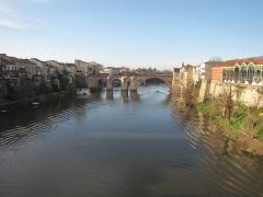Vieux Pont - Français:   Pont des Cieutat à Villeneuve-sur-Lot