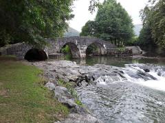 Pont sur la Nivelle dit Pont Romain - Euskara: