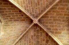 Cathédrale Notre-Dame - Plafond du cloître de la cathédrale Notre-Dame de Bayonne