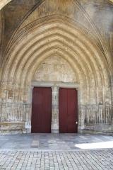 Cathédrale Notre-Dame - Entrée Ouest de la Cathédrale Notre-Dame de Bayonne