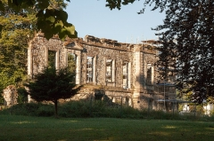 Château de Marracq -  Consolidation of the west facade of the castle of Marracq.
