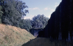 Fortifications -  Counterscarp of the glacis of the rampart Lachepaillet.