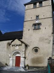 Eglise Saint-Jacques le Majeur -  Eglise St Jacques - Béost - Pyrénées Atlantiques Author:P.Charpiat 2007