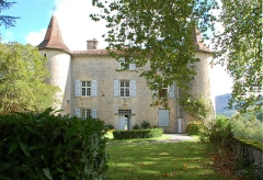 Château d'Aphat - Français:   Château Aphaté, face sud.