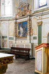 Eglise Saint-Etienne - Église Saint Étienne à Espelette (Pyrénées-Atlantiques, Nouvelle-Aquitaine, France).