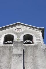 Eglise Saint-Vincent - Français:   Église Saint-Vincent d\'Igon portail, décor extérieur