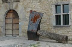 Commanderie dite Maison Ospitalia -  Irissarry, exposition dans l'ancienne commanderie