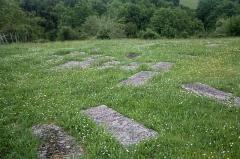 Ancien cimetière juif -  Burials of the Jewish cemetery.