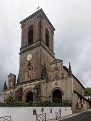 Eglise Notre-Dame de l'Assomption -  Our Lady of the Assumption, parish church of La Bastide-Clairence.