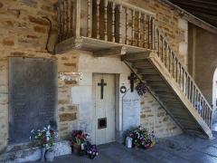 Eglise Notre-Dame de l'Assomption - La porte des cagots de l'église Notre-Dame-de-l'Assomption à La Bastide-Clairence (Pyrénées-Atlantiques, Aquitaine, France).