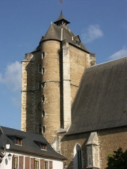 Eglise Saint-Girons - Français:   Ses dimensions sont considérables: plus de 61 m de long, 16 m de large et 31 m de hauteur. La construction débuta en 1464 et s\'acheva en 1530.