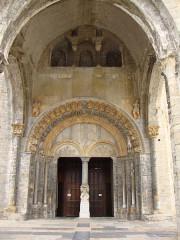 Eglise Sainte-Marie - English: Oloron-Sainte-Marie (Pyr-Atl) porche Cathedrale-Ste Marie