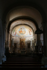 Eglise - L'église Sainte-Engrâce à Sainte-Engrâce (Pyrénées-Atlantiques, Nouvelle-Aquitaine, France).
