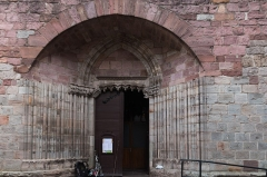 Eglise de l'Assomption de la Vierge -  Porch.
